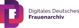 LOGO Digitales Deutsches Frauenarchiv